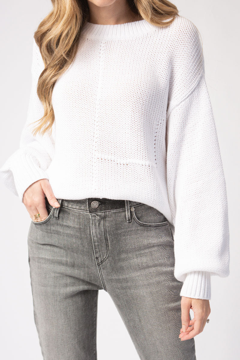 Renaud Sweater in White