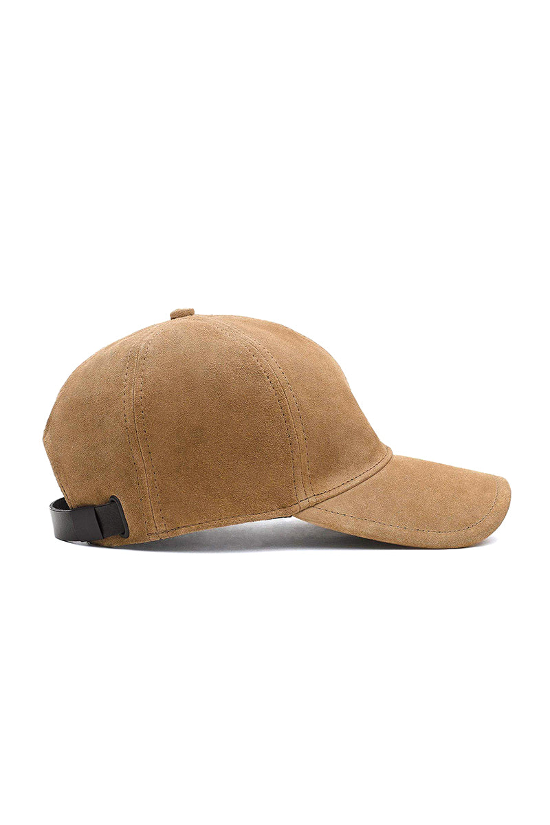 Marilyn Baseball Cap in Camel
