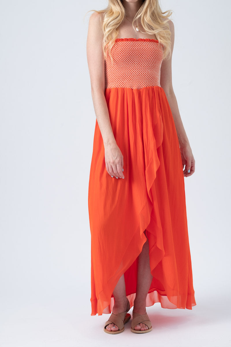 Demetra Dress in Sunset