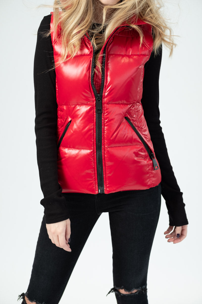 Freedom Down Puffer Vest in Candy