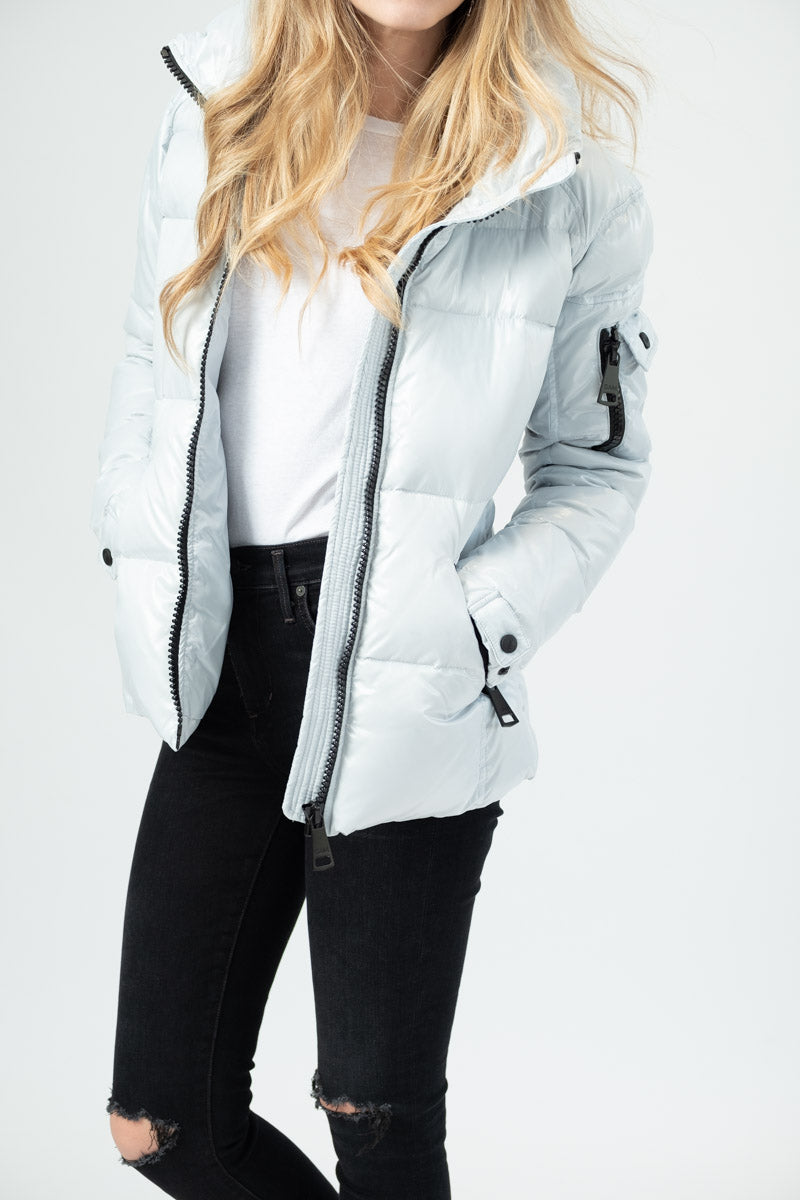 Freestyle Puffer Coat in Ice
