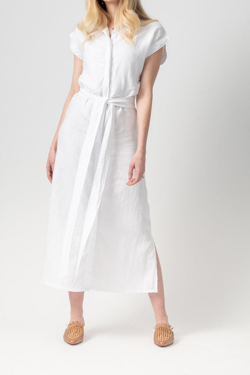 Inaya Dress in Blanc