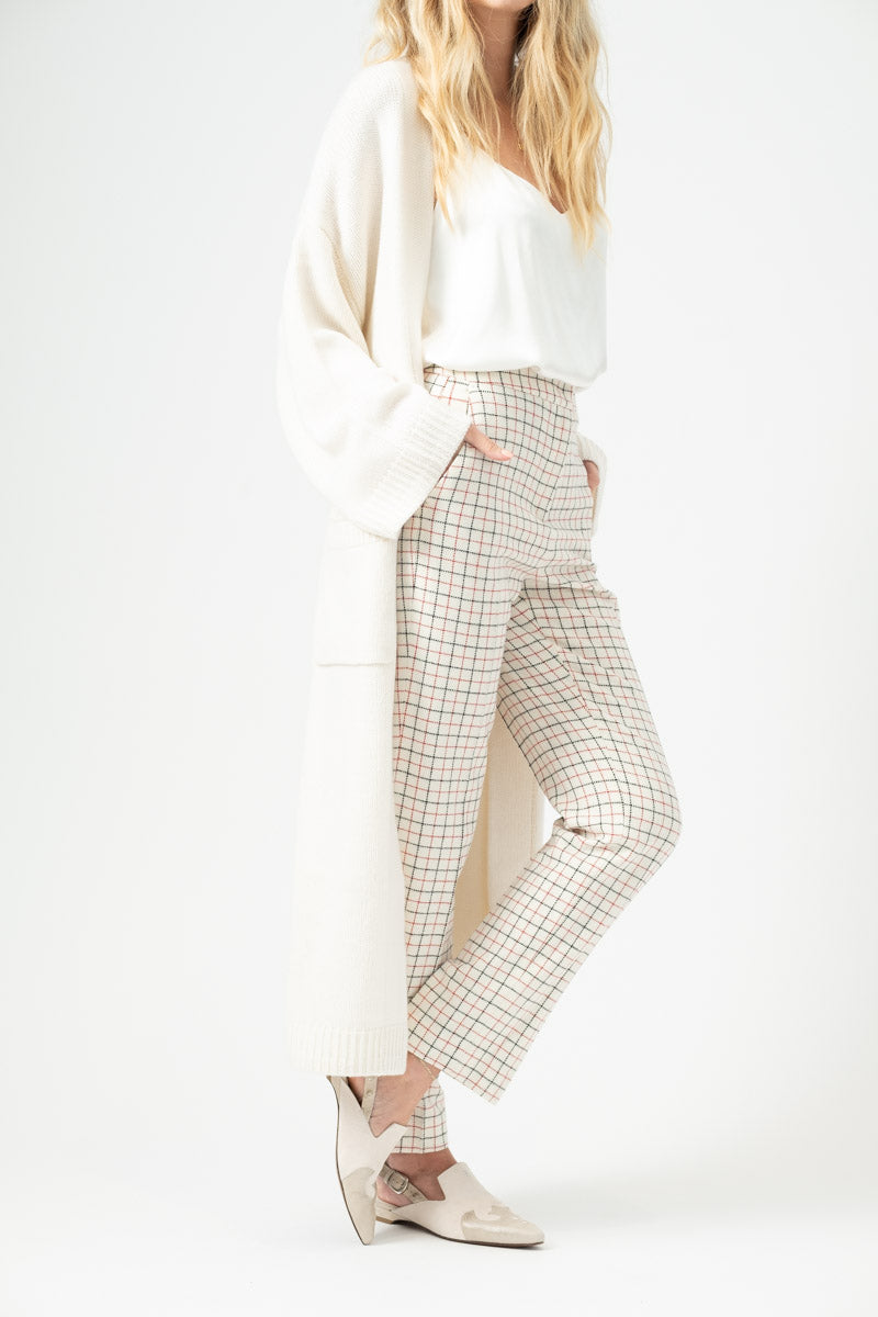 Liberty Sweater Coat in Winter White