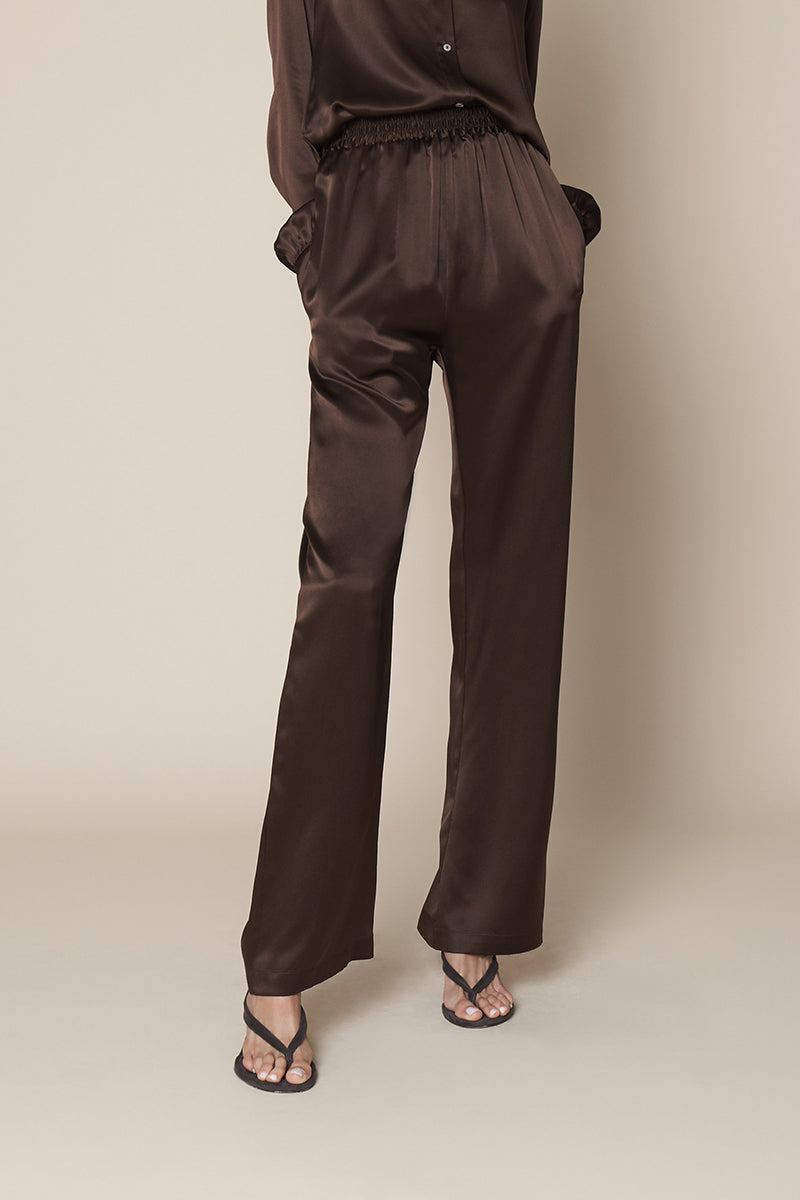 Penelope Pant in Chocolate
