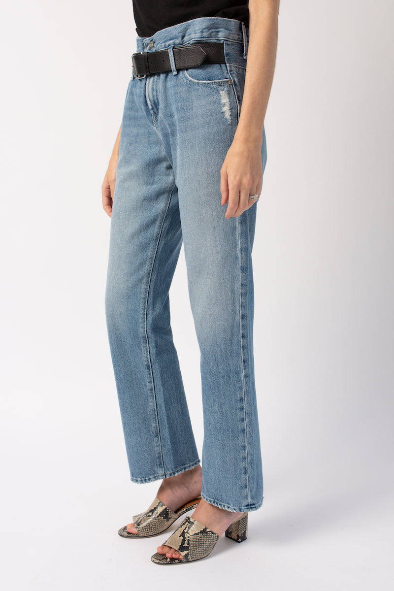Dexter Baggy Pant in Clean Blue
