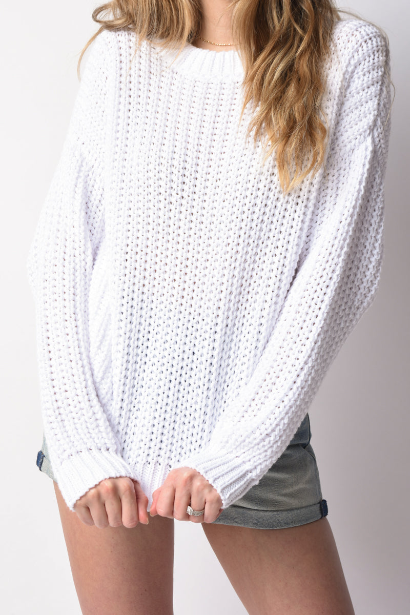 Mar Sweater in White