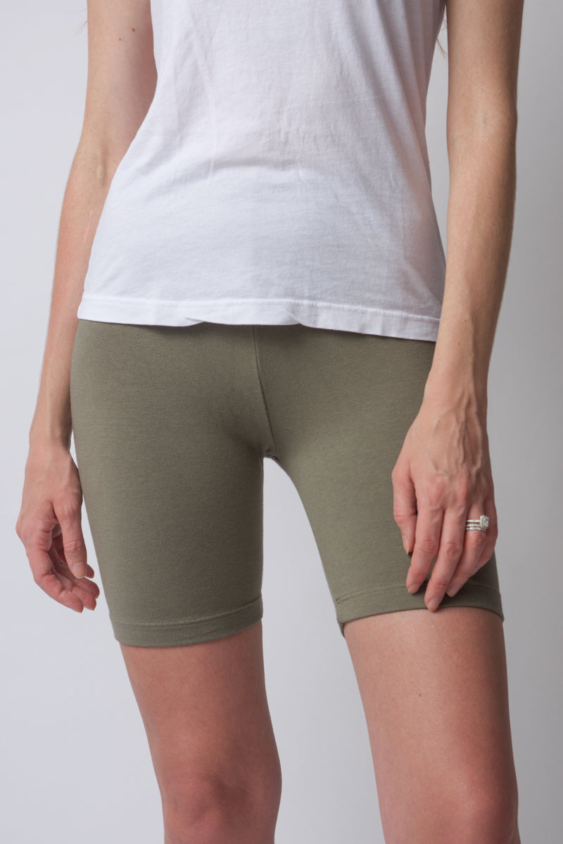 Milan Biker Short in Moon Rock