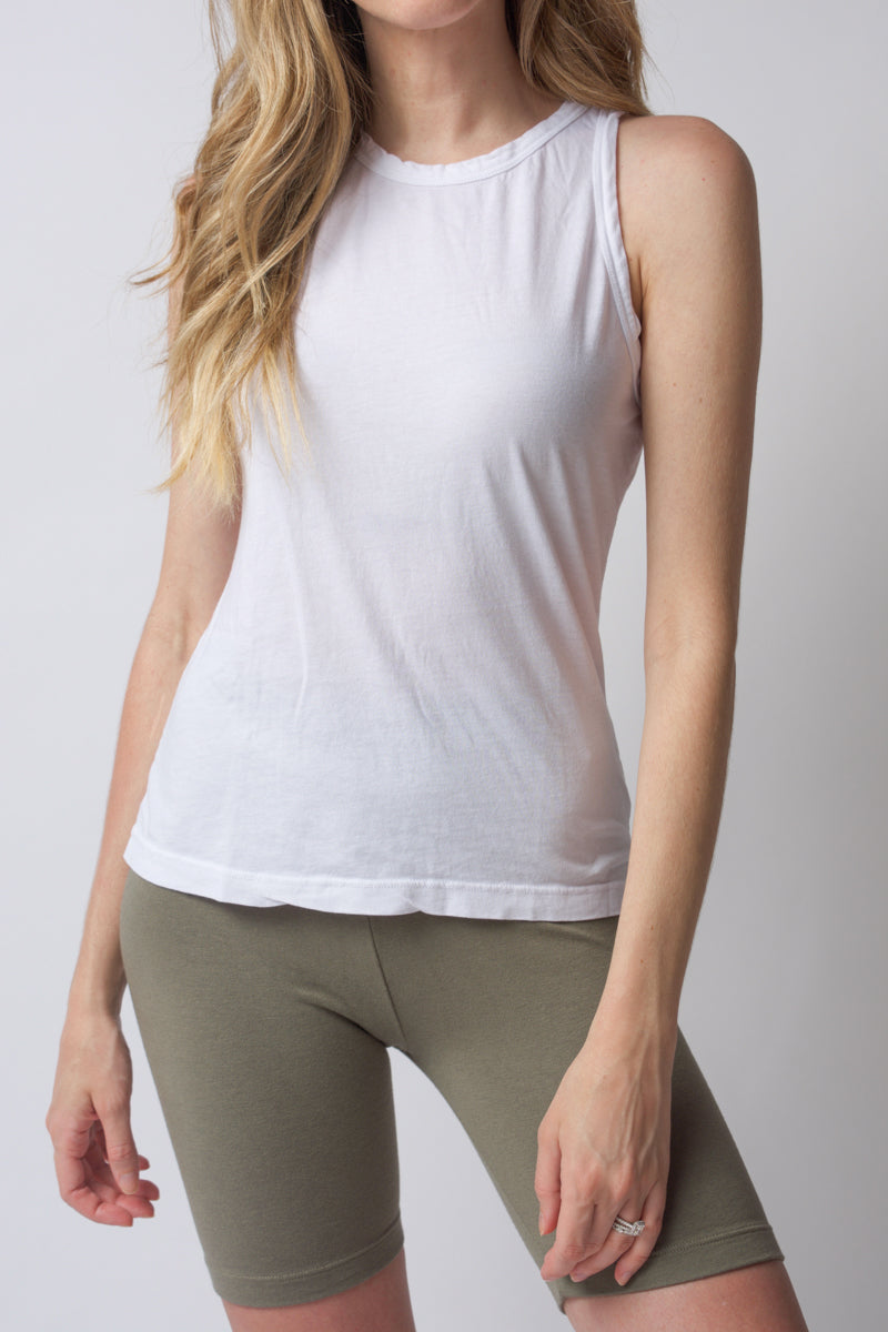 Standard Tank Top in White