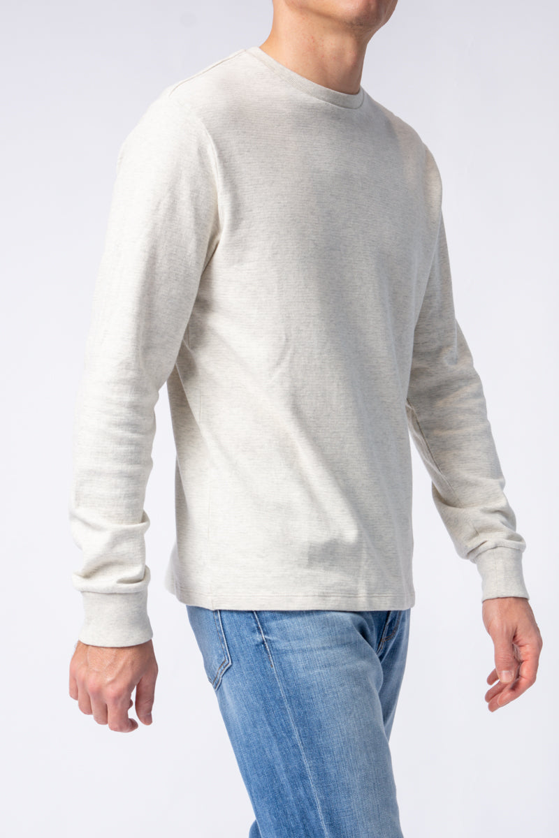 Crewneck Shirt in Oatmeal Heather