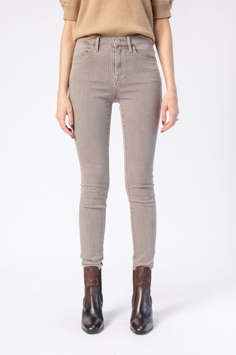 Le High Skinny Jean in Tawny Multi
