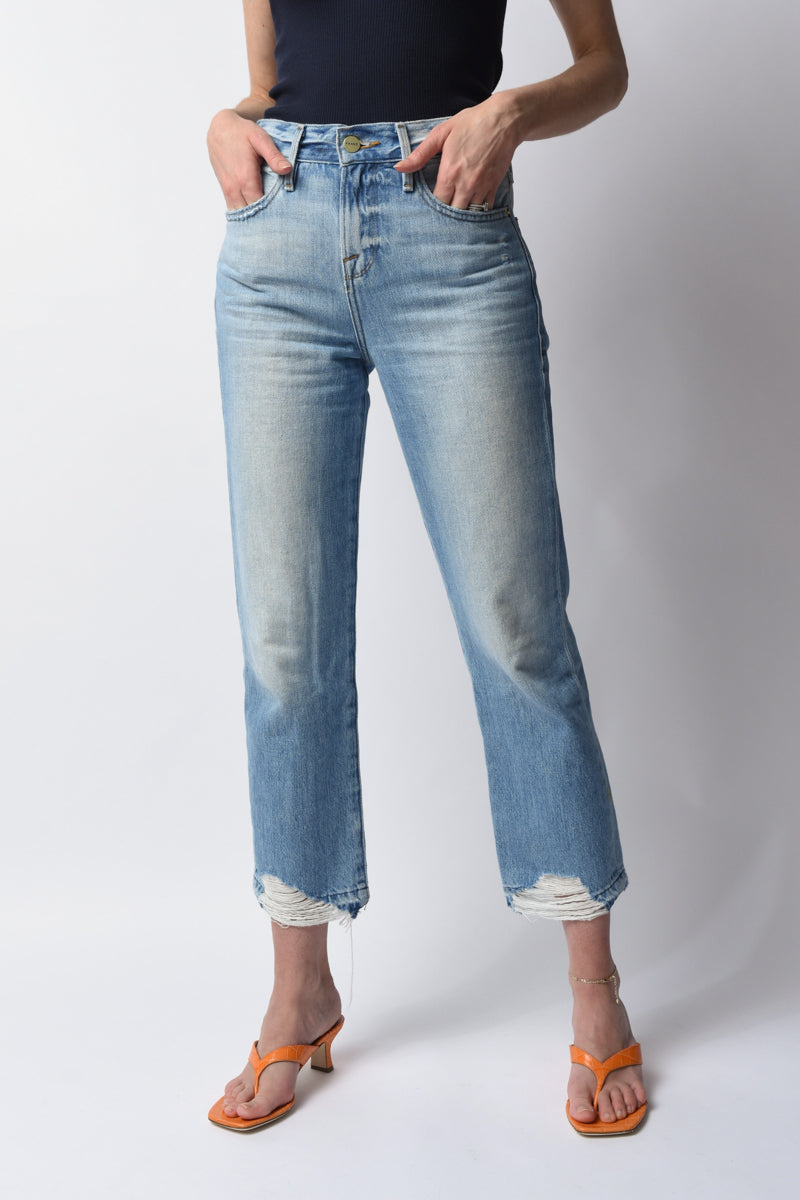 Le Hollywood Crop Released Hem Fullerton