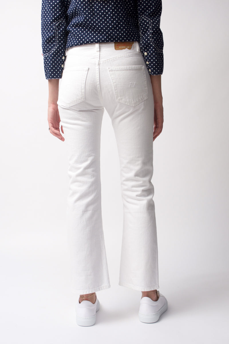 Joni Mid-Rise Jeans in White