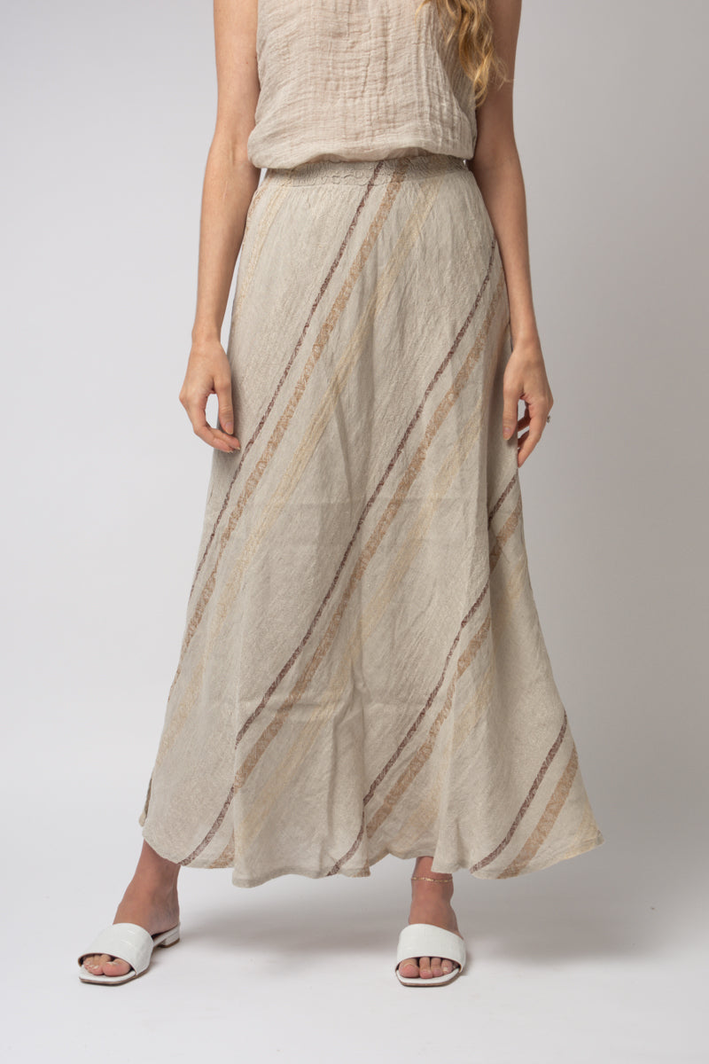 Gonna Mermaid Skirt in Riga Brown Naturale
