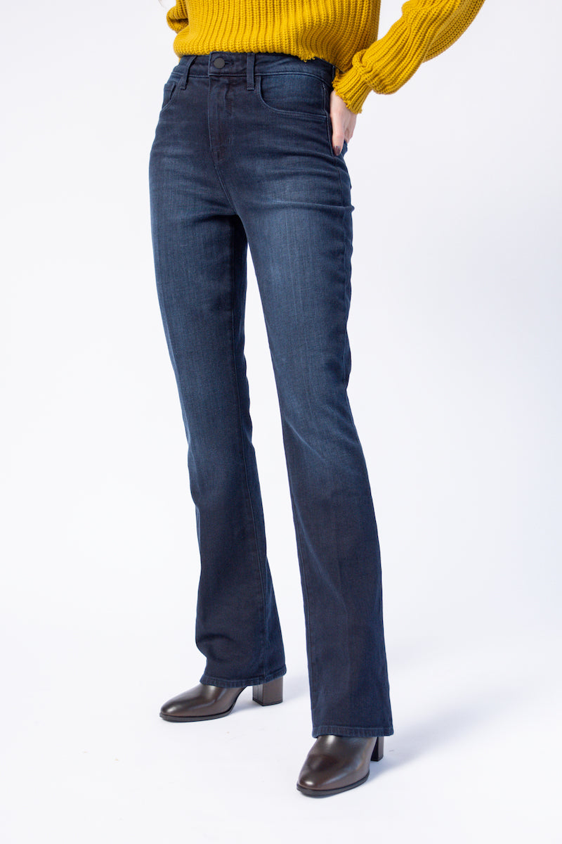 Oriana High Rise Jeans in Montero