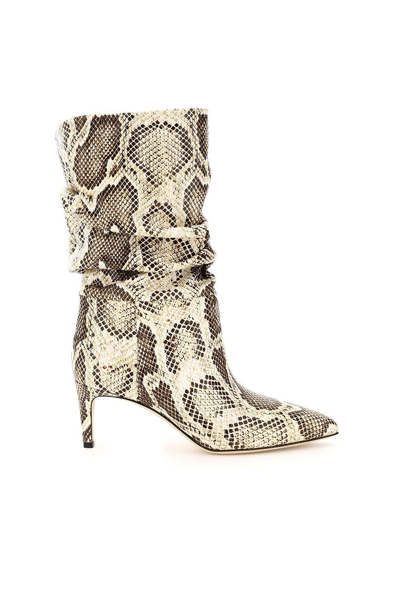 Python Slouchy Boots in Naturale