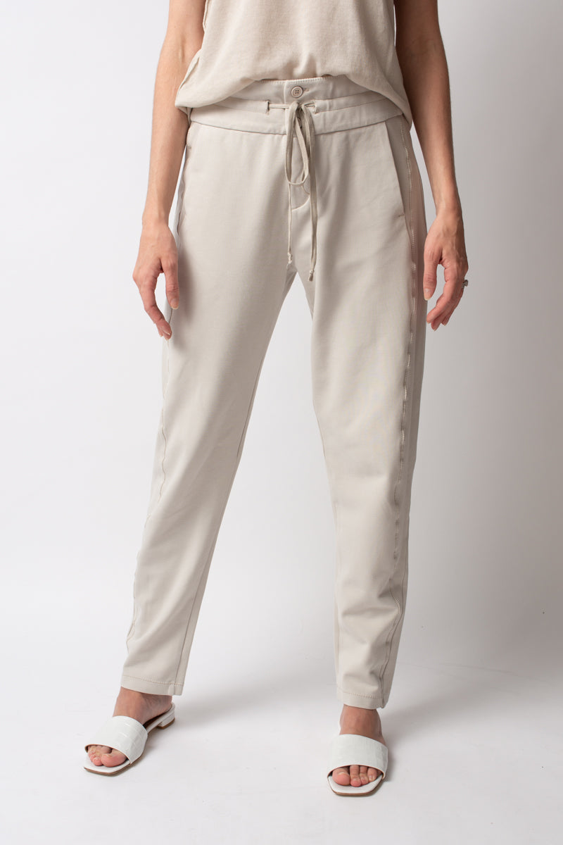 Trouser Jogger Pants in Sand