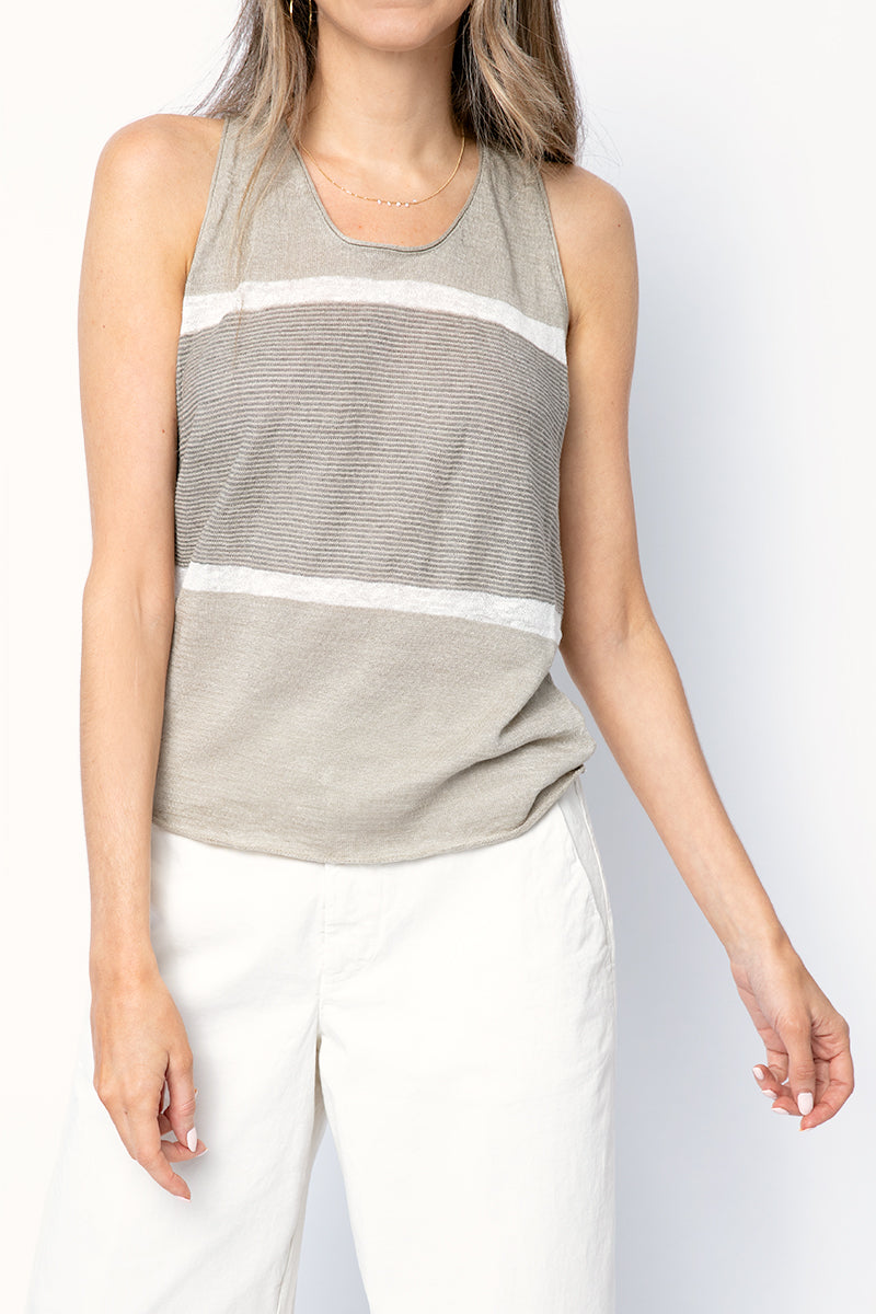 Cotton Tank Top in Desert