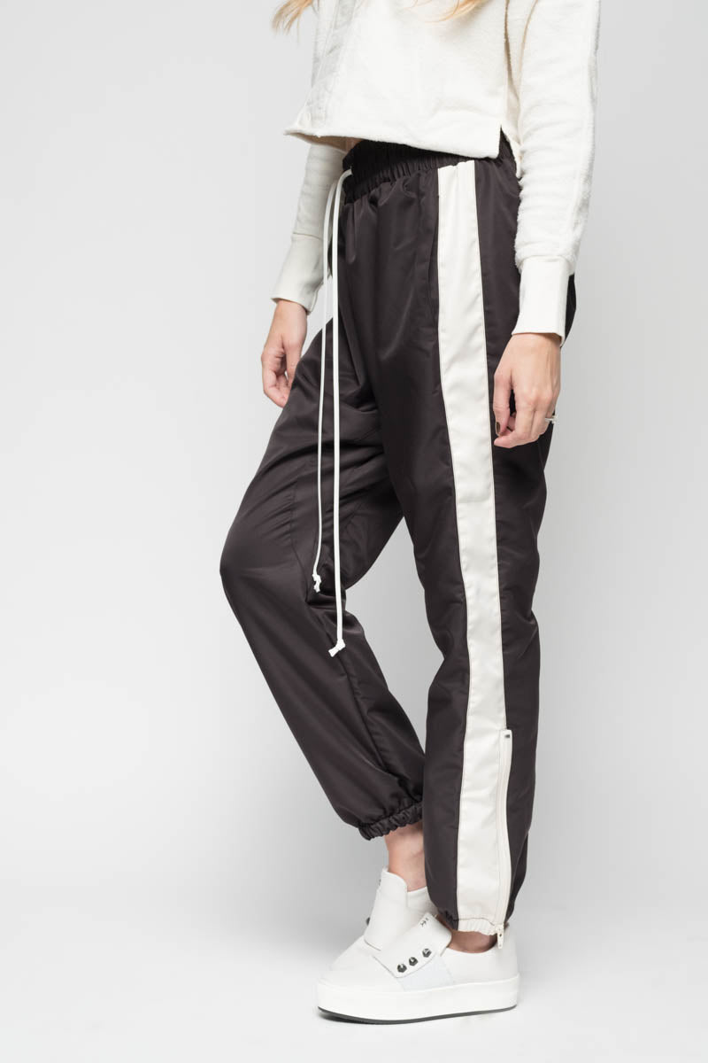 701d2bf01fd68 ... Parachute Track Pants in Black   Natural