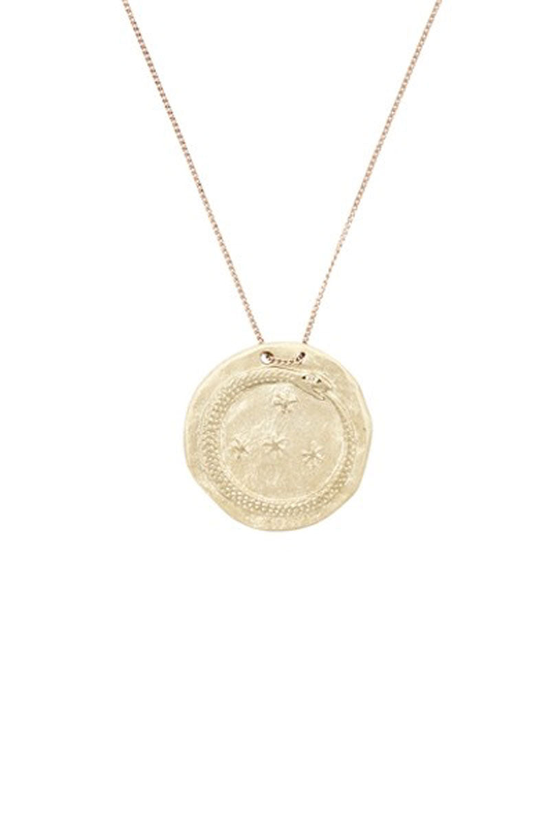 Idaho No 1 Disc Necklace