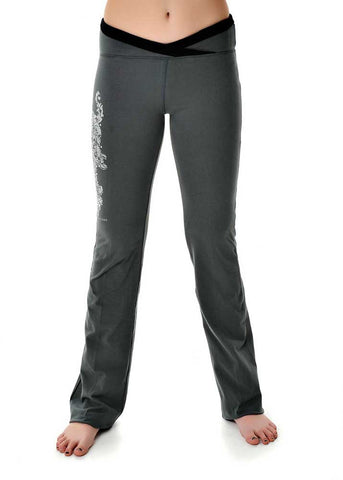 Womens Lounge Pants in Charcoal by Girls With Guns