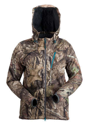 Plus Size Artemis 3 Layer Softshell Jacket - Mossy Oak Country