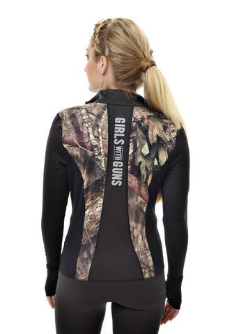 Athletic Jacket - Mossy Oak Country