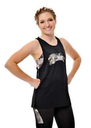 Alpine Athletic Muscle Tee | Black