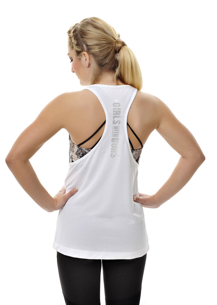 Alpine Athletic Muscle Tee | White
