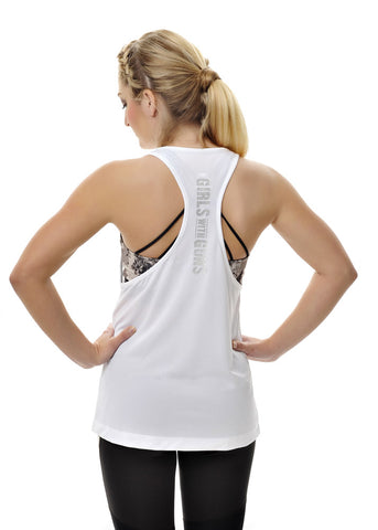 Alpine Athletic Muscle Tee - White