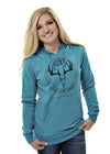 Hunt Like You're Hungry Hoodie - Teal