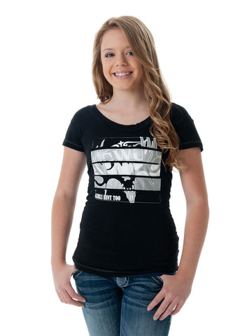 GH2 Buck T-Shirt Black - Girls With Guns - 1