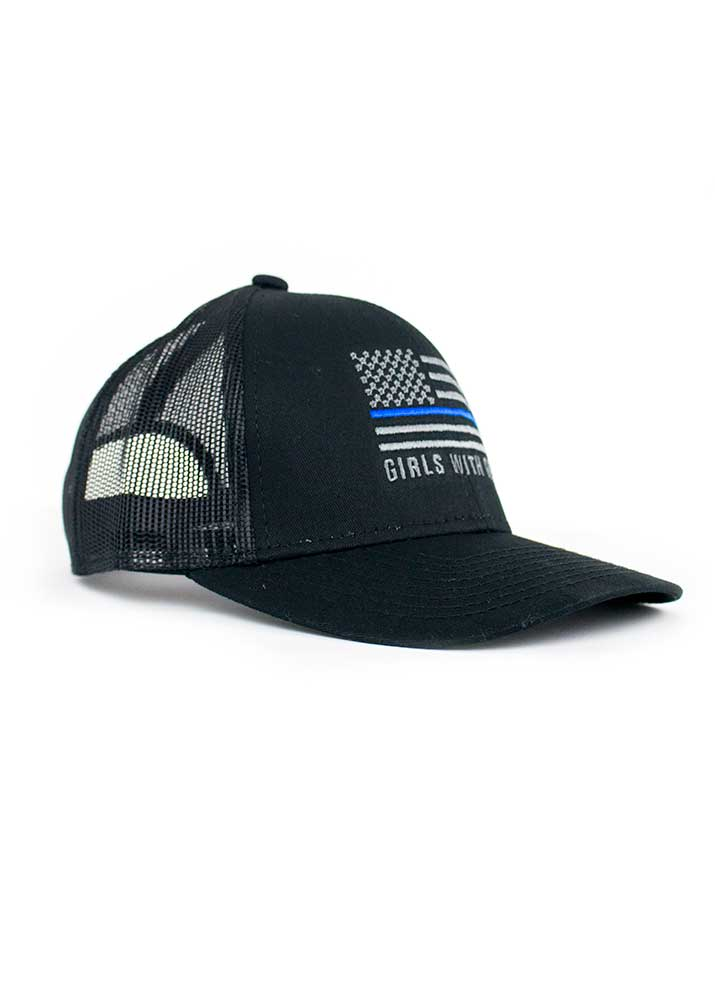 Thin Blue Line Trucker