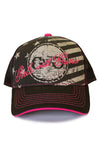 Freedom Trucker Hat Black - Girls With Guns - 1