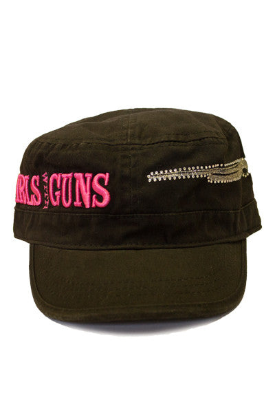GWG Gun Military Hat - Girls With Guns - 1