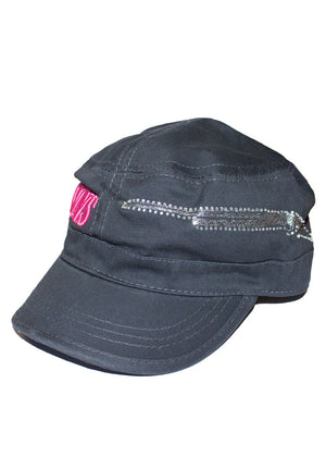 GWG Gun Military Hat Charcoal - Girls With Guns - 5