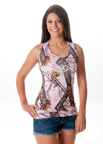 Mossy Oak Twist Tank - Girls With Guns - 1