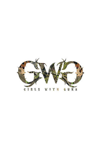 GWG Small Car Sticker Camo - Girls With Guns