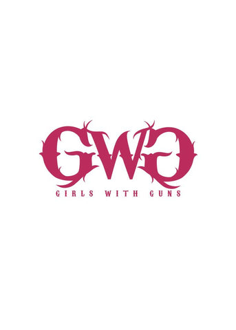 GWG Small Car Sticker Pink