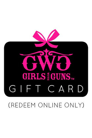Gift Card - Girls With Guns