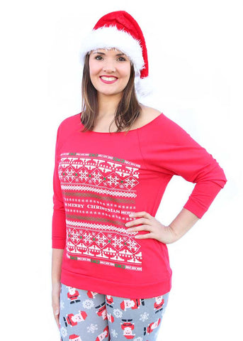 Womens GWG Ugly Christmas Sweater by Girls with Guns