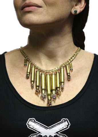 Bullet Chandelier Necklace