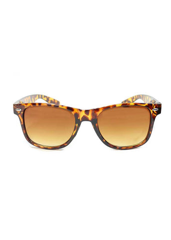 Wayfair Sunglasses - Tortoise Brown Lens