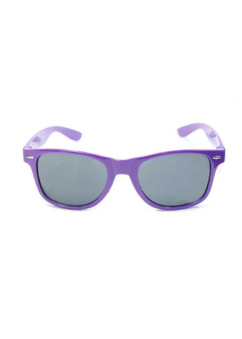 Wayfair Sunglasses - Purple Smoke Lens