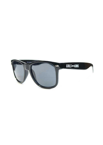 Wayfair Sunglasses -  Black Smoke Lens