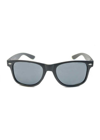 Wayfair Sunglasses - Matte Black Smoke Lens