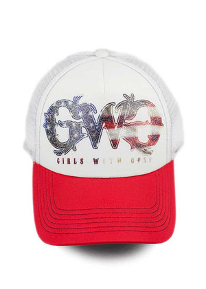 Patriot Hat - Red & Blue - Girls With Guns
