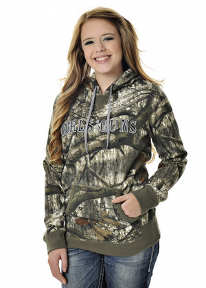 Mossy Oak Treestand Pullover Hoodie - Girls With Guns - 2