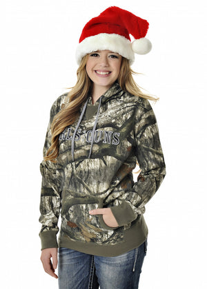 Mossy Oak Treestand Pullover Hoodie - Girls With Guns - 1
