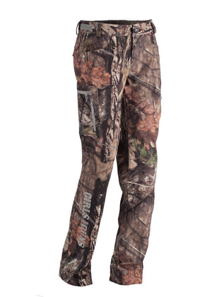 Womens Midweight Pants in Mossy Oak Camo by Girls with Guns