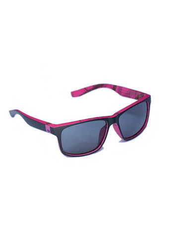 Wasatch Sunglasses - Mossy Oak Break Up Raspberry Camo - Girls With Guns